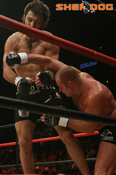 Affliction Golden Boy Heavyweight Fedor Emelianenko Kos Andrei Arlovski mma fight photo