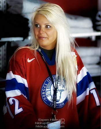 Norges Ishockey fan France photo Espen Hildrup