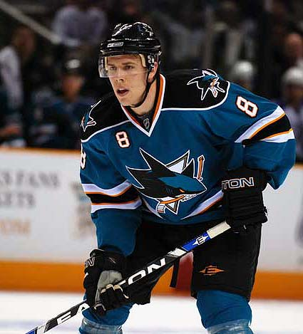 San Jose Sharks NHL photo Joe Pavelski