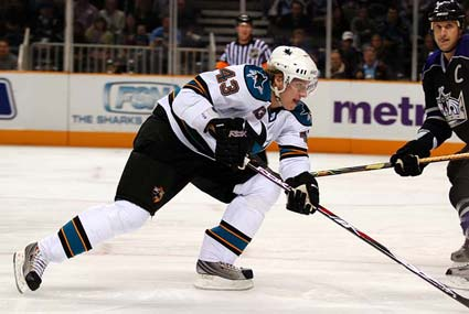 San Jose Sharks left wing prospect Lukas Kaspar NHL