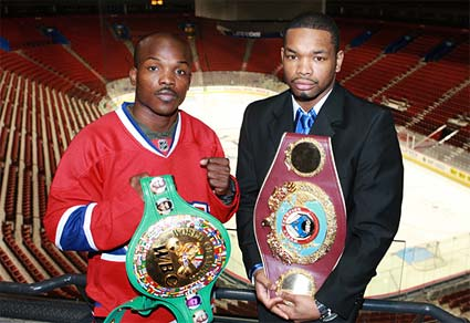 Jr. Welterweight title unification fight Tim Bradley vs Kendall Holt April 4th in Montreal