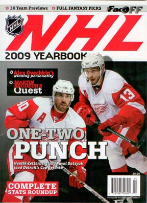 Official 2009 NHL Yearbook