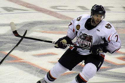 Ontario Reign lead ECHL Pacific Division Todd Jackson photo by Mike Brewster