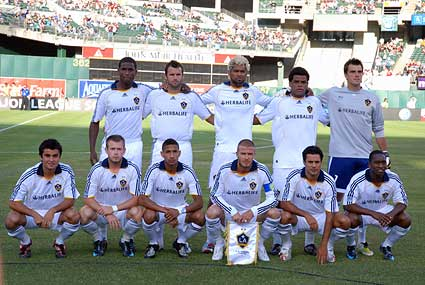 Los Angeles Galaxy starting 11