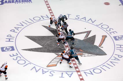 San Jose Sharks New York Islanders NHL hockey photo