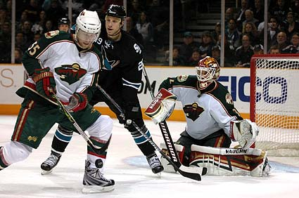 San Jose Sharks vs Minnesota Wild NHL photo gallery