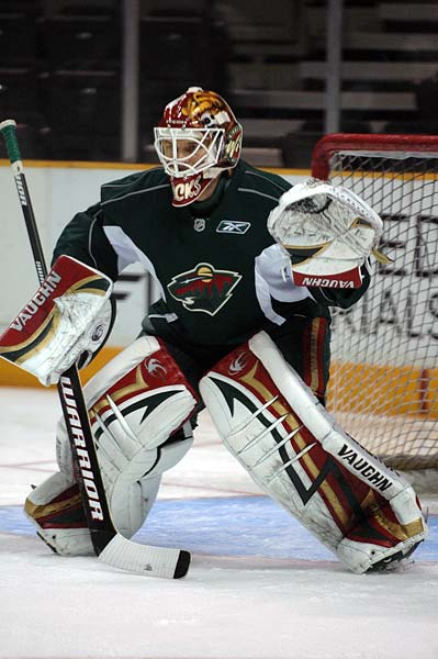 Minnesota Wild goaltender Niklas Backstrom photos