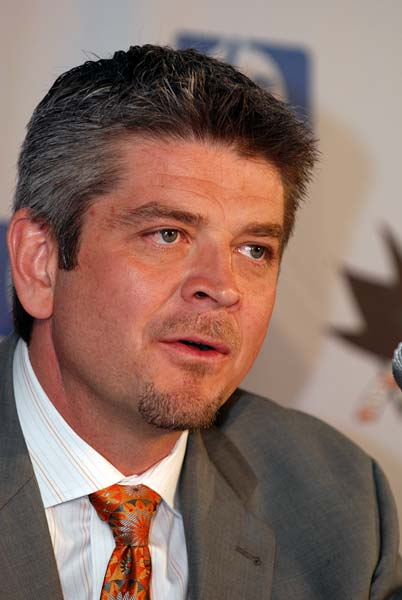 new San Jose Sharks head coach Todd McLellan