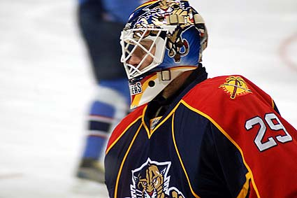 Florida Panthers goaltender Tomas Vokoun
