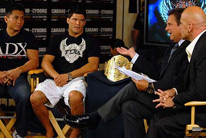 HDnet's Inside MMA with Bas Rutten and Kenny Rice Cung Le, Josh Thomson Kim Couture