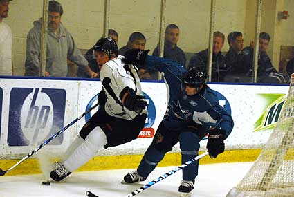 San Jose Sharks open training camp at Sharks Ice in San Jose, Douglas Murray Ryan Vesce