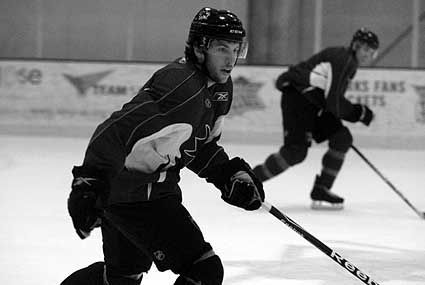 San Jose Sharks Captains Ice practice defenseman Jason Demers