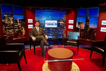 Comcast Sportsnet Bay Area Chronicle Live sports talk television show