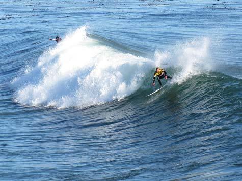 2009 ASP WQS O'neill Santa Cruz Cold Water Classic surf contest
