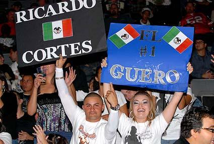 Ricardo Cortes El Guero fans HP Pavilion San Jose