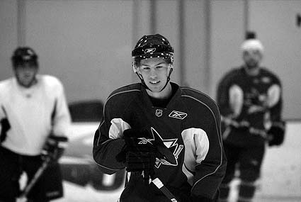 San Jose Sharks Anaheim Ducks NHL rookie tournament Logan Couture