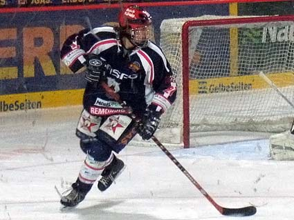 San Jose Sharks draft pick Dominik Bielke defenseman Susanne Henning