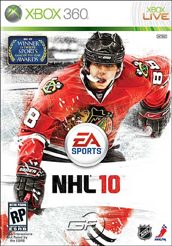EA Sports NHL10 Playstation 2 3 Nintendo wii xbox 360 hockey video game