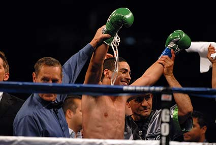 Philadelphia Welterweight Danny Garcia earns ko over Pavel Miranda HP Pavilion in San Jose