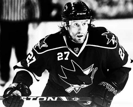 Jeremy Roenick San Jose Sharks NHL third leading American born goal scorer