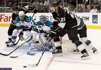 San Jose Sharks Los Angeles Kings NHL photo Zampelli