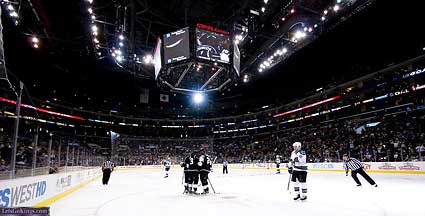 Los Angeles Kings vs San Jose Sharks Staples Center LA Michael Zampelli LGK
