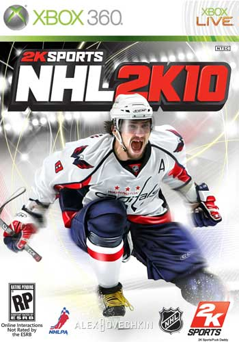 2K Sports NHL2K10 Playstation 2 3 Nintendo wii xbox 360 hockey video game