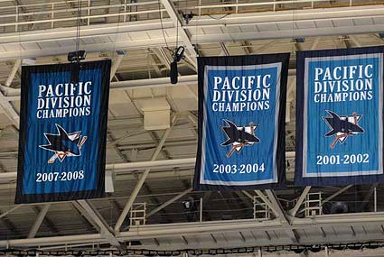 San Jose Sharks earned a fourth Pacific Division title in 2008-09