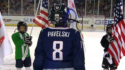 Winter Classic Joe Pavelski USA Olympic hockey team
