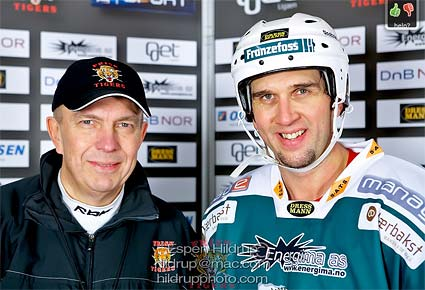Norway hockey Frisk Asker Tigers sign NHL veteran Rene Corbet photo Espen Hildrup