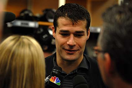 San Jose Sharks left wing Patrick Marleau named to 2010 Winter Olympics Team Canada hockey team