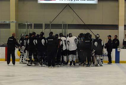 San Jose Sharks Western Conference Finals practice Chicago Blackhawks Todd McLellan