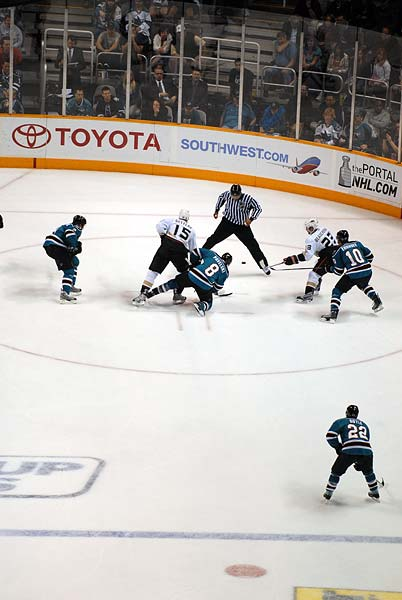 San Jose Sharks Anaheim Ducks Stanley Cup Playoffs Game 2