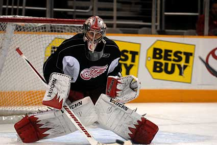 Detroit Red Wings Playoffs goaltender Jimmy Howard