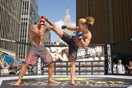 Strikeforce MMA Showtime Cristiane Cyborg Evangelista Santos
