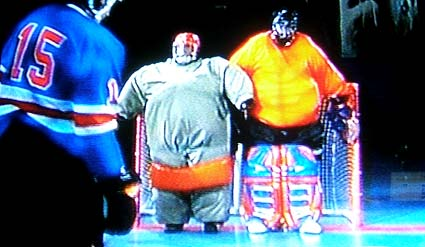 Sports Science sumo goaltenders