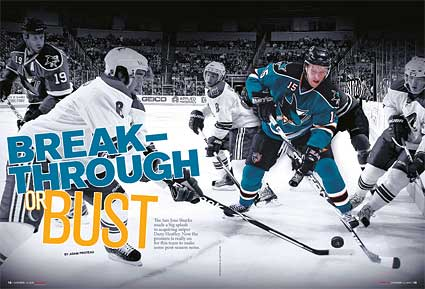 The Hockey News feature Adam Proteau article on Dany Heatley