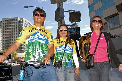2010 Tour of California start Oregon Racing fans streets of San Jose