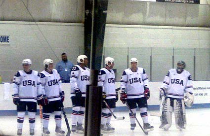 USA Hockey Olympic Mens Ice Hockey Orientation Camp