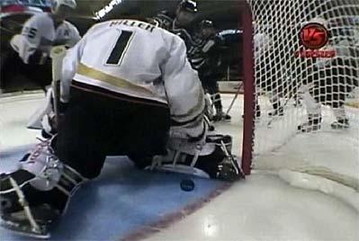 San Jose Sharks Patrick Marleau game winning overtime goal Jonas Hiller
