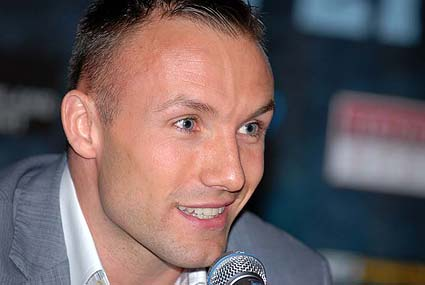 World Boxing Classic Super Six Tournament press conference Mikkel Kessler WBA Super Middleweight Champion photo