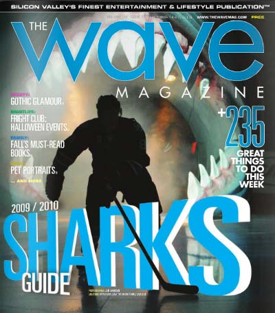 The Wave Magazine October San Jose Sharks issue cover photo Jon Swenson