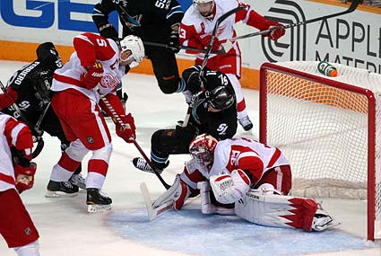 San Jose Sharks Detroit Red Wings Western Conference Semifinal game 1 Stanley Cup Playoffs