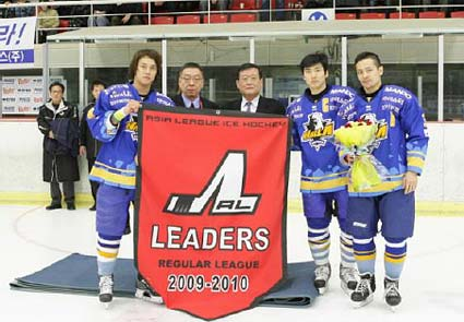 ALIH 2009-10 season awards regular season champion Anyang Halla best record