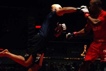 Cung Le Javier Mendez Born to Fight 14 amateur MMA