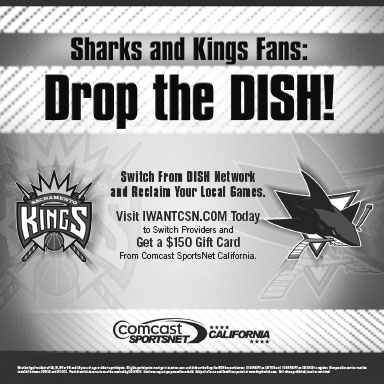 Comcast Sports Network California Dish Network Sharks Kings