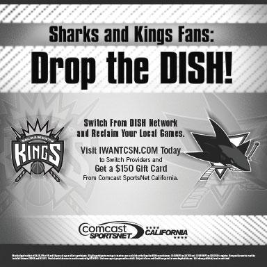 Comcast Sports Network California Dish Network Sharks Kings