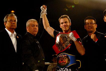 Combat Sports Academy Bryan Petro unifies USMF MTAA welterweight muaythai kickboxing titles