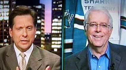 San Jose Sharks president CEO Greg Jamison interviewed on CSNBA Chronicle Live