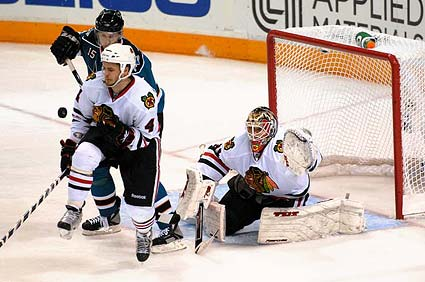 Chicago Blackhawks San Jose Sharks Game 2 WCF Stanley Cup Playoffs